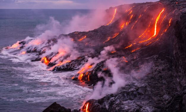 DEVELOPING: One of the world's most active volcanoes has once again erupted on island of Hawaii