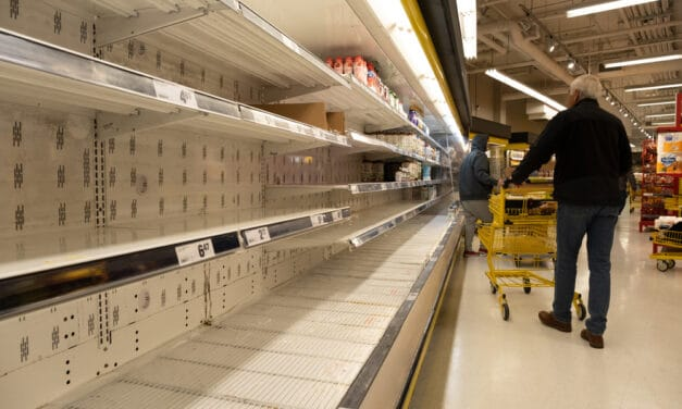 Shelves across the Nation are empty and it looks to only be getting worse