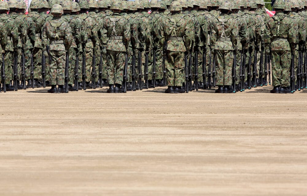 Japan 'prepares for war' in first major military drill in 30 YEARS as tensions rise with China