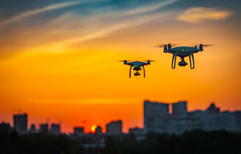 Drones will 'automatically' check holidaymakers' temperatures in Italy