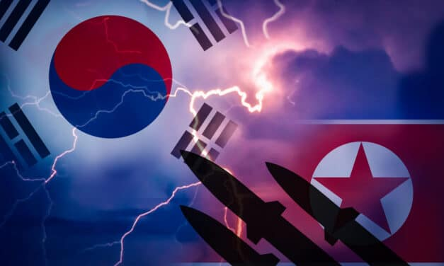 Both North and South Korea have test fired missiles hours apart, raising tensions of possible war
