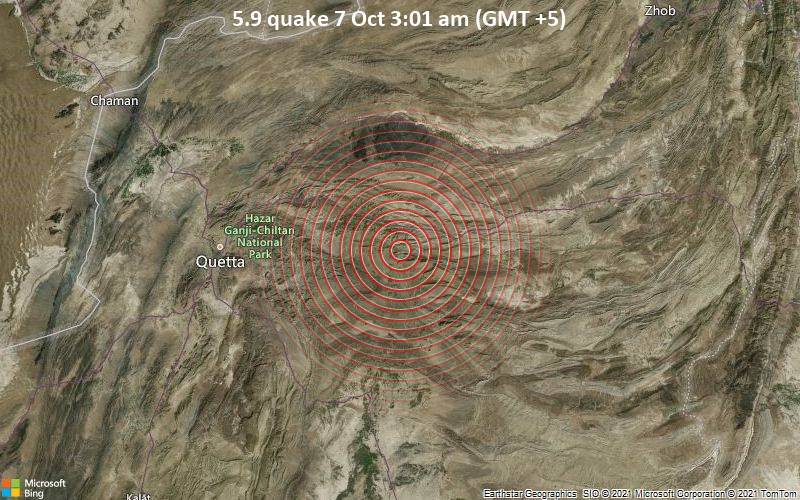 Strong earthquake strikes Pakistan shaking multiple cities and leaving over 20 dead