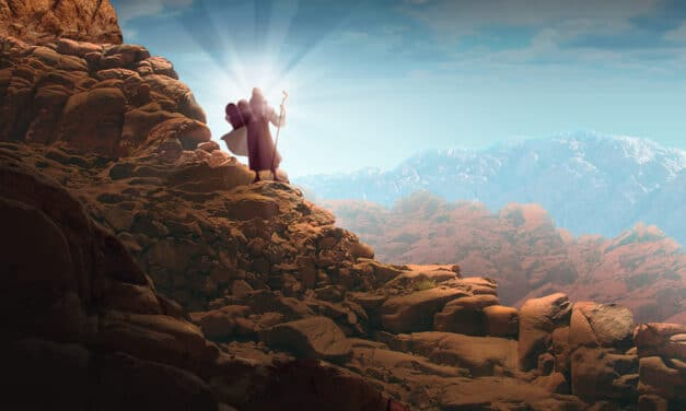 Bible archaeologists discover Mount Sinai where God handed Moses the Ten Commandments'