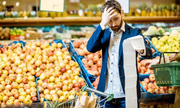Shoppers across the Nation are seeing rising prices and less inventory in grocery stores and it's not going to change anytime soon
