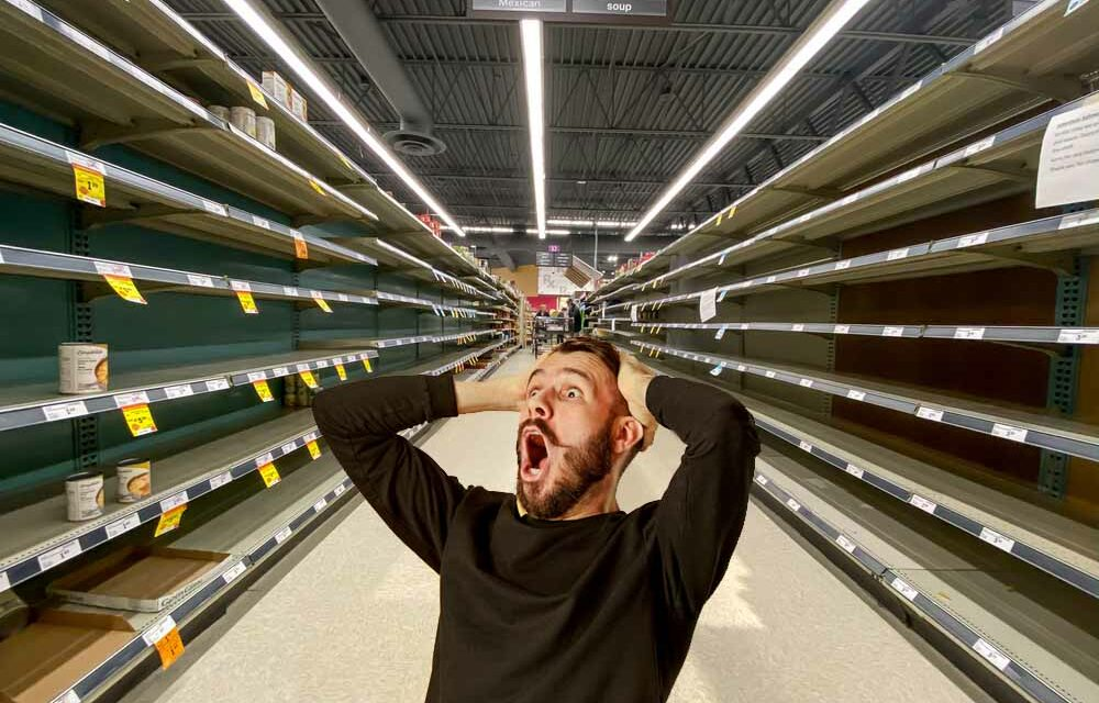 Americans keep saying things will get back to normal but will be shocked by the empty shelves they will see in the days ahead