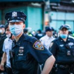 A quarter of NYPD could be forced home without pay as vaccine deadline looms